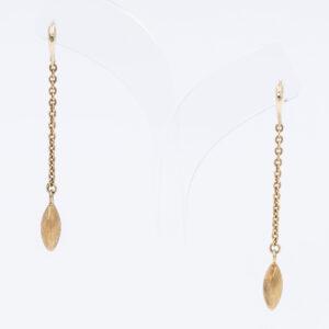 Gold Drop Earrings