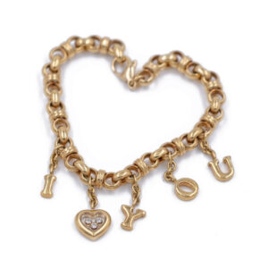 "Chopard ""I Love You"" Bracelet"