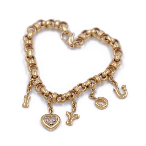 "Chopard ""I Love You"" Bracelet"