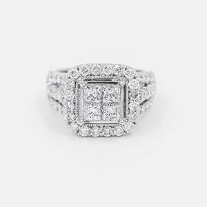 Diamond Quad Ring