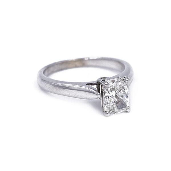Radiant diamond side