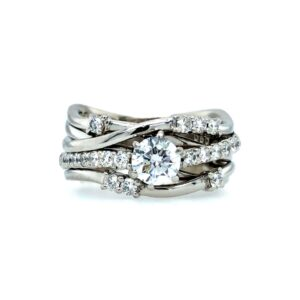 Platinum and Diamond ring