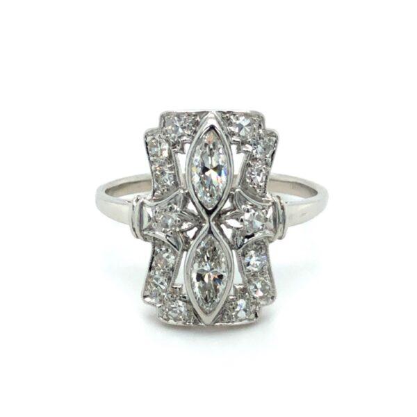 Vintage Platinum ring